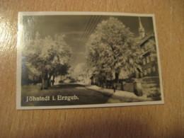 JOHSTADT I. Erzgeb. Bilder Card Photo Photography (4,3x6,3cm) Erzgebirge Mountains GERMANY 30s Tobacco - Ohne Zuordnung