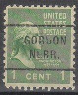 USA Precancel Vorausentwertung Preo, Locals Nebraska, Gorden 712 - Vereinigte Staaten