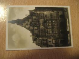 DRESDEN Georgentor Bilder Card Photo Photography (4,3x6,3cm) Schloss Castle Chateau GERMANY 30s Tobacco - Ohne Zuordnung