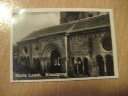 KREUZGANG Maria Laach Kloster Bilder Card Photo Photography (4,3x6,3cm) Rhein Rhine Rhin Rin GERMANY 30s Tobacco - Deutschland