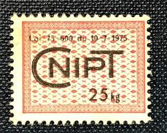 Rare Timbre Taxe Agricole CNIPT 1975 - Non Classificati