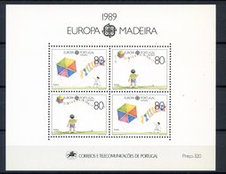 (CL 45 B) Portugal - Madere ** Bloc N° 10 - Europa - Année 1989 - Europa-CEPT