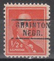 USA Precancel Vorausentwertung Preo, Locals Nebraska, Grainton 729 - Vereinigte Staaten