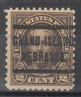 USA Precancel Vorausentwertung Preo, Locals Nebraska, Grand Island 653-205 - Vereinigte Staaten