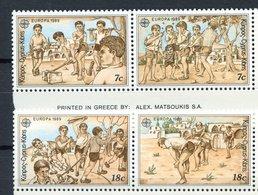 Chypre ** N° 712 à 715 - Europa - Année 1989 - Europa-CEPT