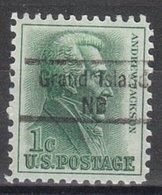 USA Precancel Vorausentwertung Preo, Locals Nebraska, Grand Island 843 - Vereinigte Staaten