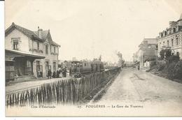 FOUGERES. La Gare Du Tramway. - Fougeres