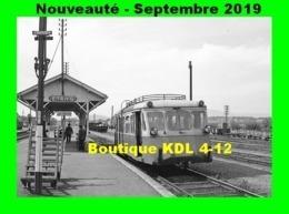 AL 603 - Autorail Billard A 75 D En Gare D'ETANG-SUR-ARROUX - Saône Et Loire - CFD Morvan - Trenes