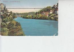 SVIZZERA  1910 - Fribourg - Le Pont Suspendu - FR Fribourg
