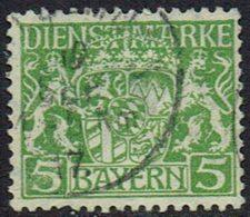Altdeutschland, Bayern Dienstmarken,1916, MiNr 17, Gestempelt - Bavaria