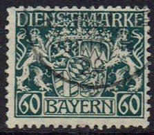 Altdeutschland, Bayern Dienstmarken,1916, MiNr 23 Gestempelt - Bavaria