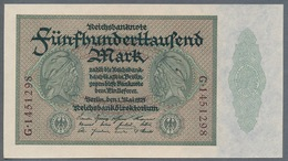 P88 Ro87c DEU-99c  - 500 000 Mark Impression Du Reichs  UNC NEUF - 1918-1933: Weimarer Republik