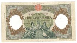 5000 LIRE REGINE DEL MARE  23 03 1961 Leggermente Pressata Ma Ottimi Colori Bb/spl Lotto 3075 - [ 2] 1946-… : Républic