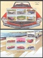 PK390 ZAMBIA EXOTIC CARS OF YESTERDAY THE WORLD OF FERRARI 2KB MNH - Cars