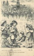 GUERRE 1914-18 -  Rien N'arrête Les Barbares, Guillaume II, Carte Illustrée Par E Mesples. - Guerre 1914-18