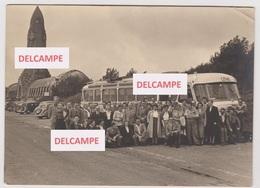 FOTO STADSPERSONEEL IEPER OP REIS NAAR VERDUN 1954 - Personnes Anonymes