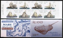 1995 Aland Cargo Vessels Booklet MNH. - Aland