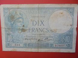FRANCE 10 FRANCS 1939 CIRCULER (B.6) - 1871-1952 Antichi Franchi Circolanti Nel XX Secolo