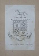Ex-libris Héraldique XIXème - ALEXANDER TROTTER - Ex-libris