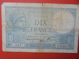 FRANCE 10 FRANCS 1940 CIRCULER (B.6) - 1871-1952 Antichi Franchi Circolanti Nel XX Secolo