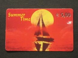 *ITALY* USATA USED - INTERNATIONAL PREPAID PHONE CARD - SUMMER TIME - Italia