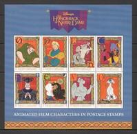PK405 ST.VINCENT & GRENADINES DISNEY HUNCHBACK OF NOTRE DAME 1SH MNH - Disney