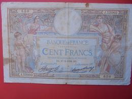 FRANCE 100 FRANCS 1936 CIRCULER (B.6) - 1871-1952 Antichi Franchi Circolanti Nel XX Secolo