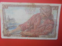 FRANCE 20 FRANCS 1942 CIRCULER (B.6) - 1871-1952 Anciens Francs Circulés Au XXème