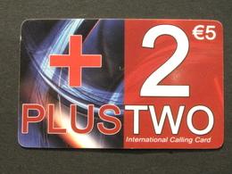 *ITALY* USATA USED - INTERNATIONAL PREPAID PHONE CARD - PLUS 2 - Italia