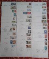 Année 1969 Compléte En 1er Jour Soit 39 Enveloppes - 1960-1969