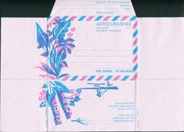 POLYNESIE FRANCAISE  - AEROGRAMME N° 1 DE 1972 - LUXE & RARE - Aérogrammes