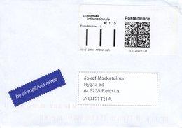 Auslands - Brief Von Arona (NO) Mit 115 Cent Bar Frei 2020 - 1946-.. République