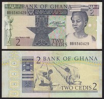 Ghana - 2 Cedis Banknote 1982 Pick 18d VF+ (3+)    (21310 - Banknoten