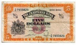 Hong-Kong / 5 Dollars / Non Daté / Pick 68 / TB - Hong Kong
