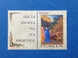 2009 ITALIA DANTE GIORNATA DELLA LINGUA ITALIANA FRANCOBOLLO NUOVO STAMP NEW MNH** - 2001-10: Ungebraucht