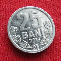 Moldova 25 Bani 2013 KM# 3  Lt 781  Moldavia Moldavie - Moldavië