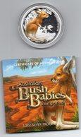 AUSTRALIA, 2010 PERTH MINT KANGAROO ½ OUNCE 99.9% SILVER PROOF COIN - Sets Sin Usar &  Sets De Prueba