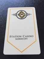 Hotelkarte Room Key Keycard Clef De Hotel Tarjeta Hotel    STATION CASINO KANSAS CITY - Télécartes