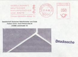 Gesellschaft Deutscher Naturforscher Und Ärzte - Kaiser Wilhelm Allee - 5090 Leverkusen - FK Drucksache - Medizin