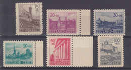 Dt.Bes.2.WK Estland MiNr. 4-9 ** - Occupation 1938-45