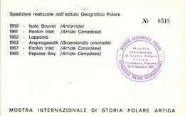 (St.Post.).Mostra Internazionale Di Storia Postale Artica (5-a20) - Spedizioni Artiche