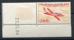 RC 15352 FRANCE PA N° 32 - 500F FOUGA MAGISTER COTE 250€ NEUF ** MNH TB - Luftpost