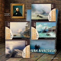 Togo. 2019 Ivan Aivazovsky. (0547a)  OFFICIAL ISSUE - Arts