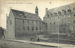 ( SAINT  POL DE LEON )( 29 FINISTERE )( ECOLES ) LE COLLEGE - Saint-Pol-de-Léon