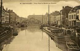 CPA - Belgique - Brussels - Bruxelles - Vieux Canal Et Marché Aux Poissons - Markets