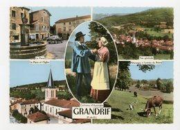 CPM:  63 - GRANDRIF - MULTIVUE - - Autres Communes