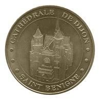 Monnaie De Paris , 2009 , Dijon , Cathédrale Saint Benigne - Monnaie De Paris