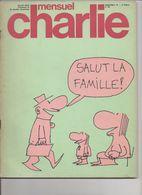 MENSUEL CHARLIE   °° No  68  SALUT LA FAMILLE  SEPTEMBRE 1974 - Kranten