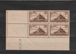 France Coin Daté Du Sans Charniére **  Numéro 260 Type II Du 20 8 1935 - 1930-1939