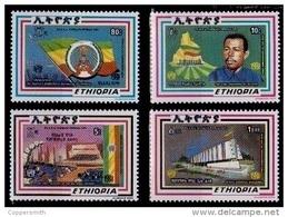 (317) Ethiopia / Ethiopie  Republic / 1988 / Rare / Scarce ** / Mnh  Michel 1307-10 - Ethiopia